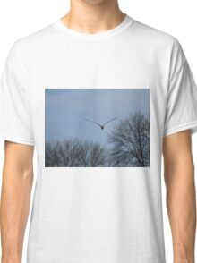 Seagull Over Trees Classic T-Shirt
