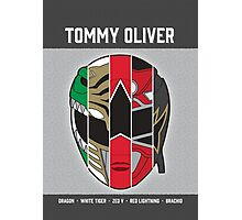 Tommy Oliver - 5x Ranger Photographic Print