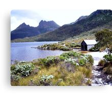 The Boatshed at Dove Lake -  Cradle Mountain Canvas Print