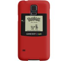 Retro Red Samsung Galaxy Case/Skin