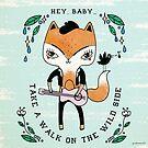 rock'n roll fox by Paola Vecchi