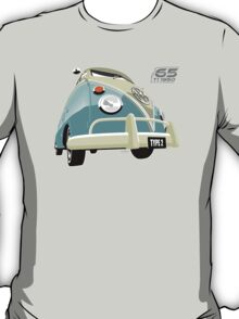 VW Transporter light blue - 65th anniversary T-Shirt
