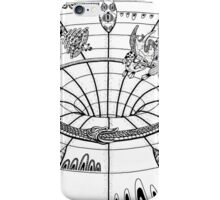 Down and out the wormhole iPhone Case/Skin