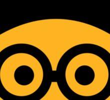 Geek nerd smiley Sticker