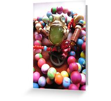 Peace Frog. Greeting Card