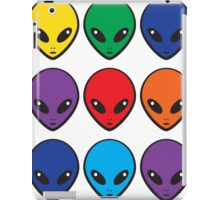 Rainbow Aliens iPad Case/Skin