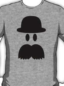 Smiley Mustache hat T-Shirt