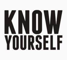 Know Yourself by designbymike