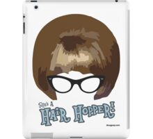 She's A Hair Hopper! iPad Case/Skin