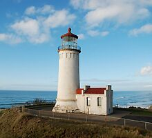 North Head Lighthouse, Cape Disappointment, Washington by Deborah Singer