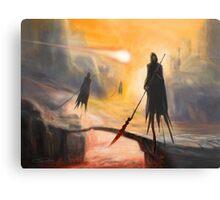 Lava Wraiths Metal Print