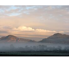 Sunrise in The Valley Photographic Print