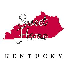 Kentucky Sweet Home Kentucky Photographic Print
