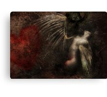 No wings Canvas Print