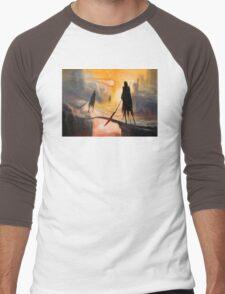 Lava Wraiths Men's Baseball ¾ T-Shirt