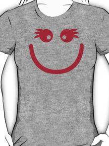 Smiley girl face T-Shirt