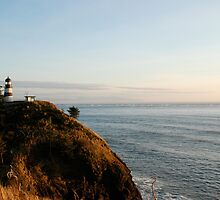 Cape Disappointment Lighthouse, Washington by Deborah Singer