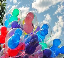 Disneyland Balloons by dlr-wdw