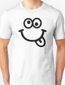 Funny smiley face Unisex T-Shirt