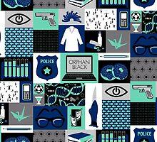 Orphan Black Patchwork by alisonhendrix