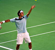Federer by Darren Greenwell
