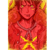One Piece - Luffy 2.0 [no text] Photographic Print