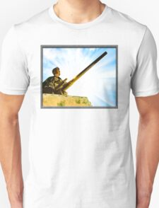 Vintage World War II Army Tank Commander T-Shirt