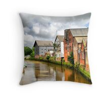River Ouse in Lewes Throw Pillow