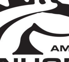 american iron horse Sticker