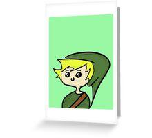Chibi Link Greeting Card