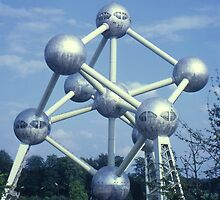 Atomium, Brussels, Belgium. by Peter Stephenson