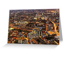 City Lights, London, United Kingdom Greeting Card