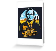 Better Call Saul Greeting Card