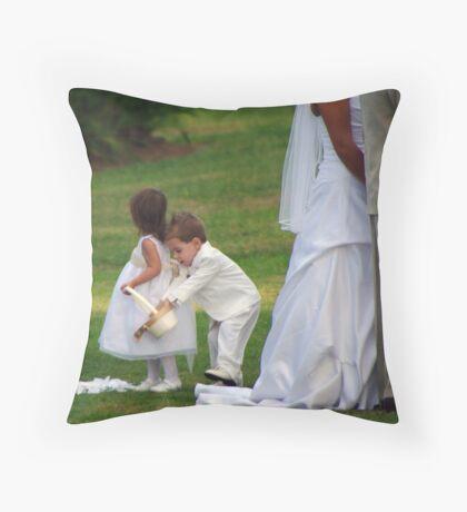Boys Will Be Boys Throw Pillow
