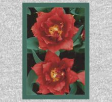 double tulips-redto greenbg!:P and green Kids Clothes