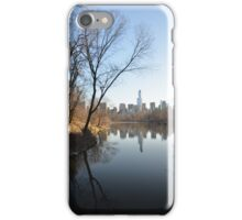 The Lake, Central Park iPhone Case/Skin