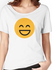 Funny smiley Women's Relaxed Fit T-Shirt