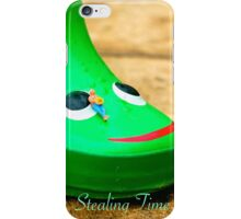 Stealing Time iPhone Case/Skin