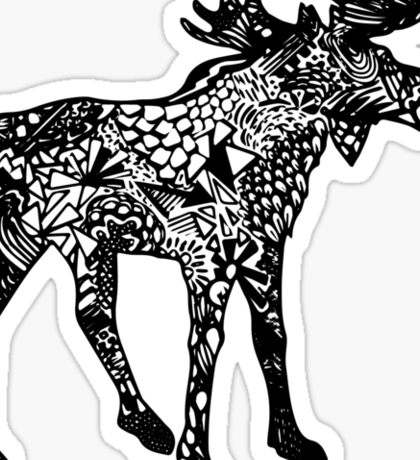 Moose_NH Sticker
