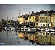 Honfleur Harbour, France Photographic Print