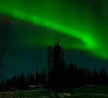 Feb 14th/09 Northern Lights by peaceofthenorth