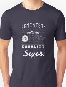 I AM A FEMINIST  Unisex T-Shirt