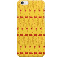 Feather- Yellow and Red iPhone Case/Skin