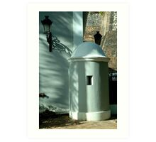 Guard House, Old San Juan, Puerto Rico Art Print