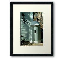 Guard House, Old San Juan, Puerto Rico Framed Print