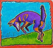 Coyote Dancing 2 by carol selchert