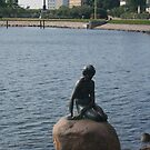 Copenhagen's Little Mermaid by Allen Lucas