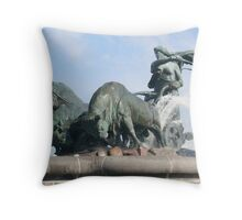 Gefion Fountain, Copenhagen Throw Pillow