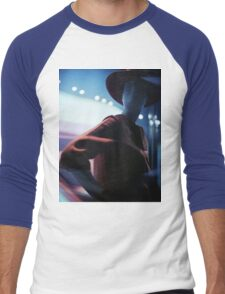 Portrait of shop dummy store mannequin Hasselblad square medium format film analogue photograph Men's Baseball ¾ T-Shirt
