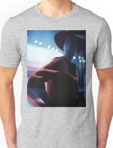 Portrait of shop dummy store mannequin Hasselblad square medium format film analogue photograph Unisex T-Shirt